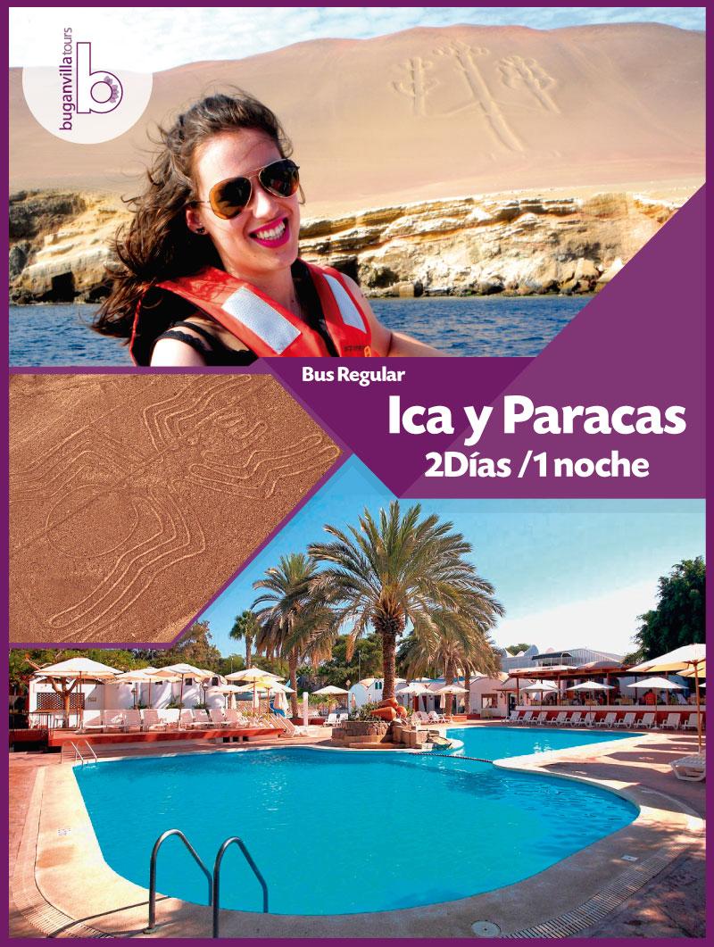 2Días 1 Noche Paracas e Ica