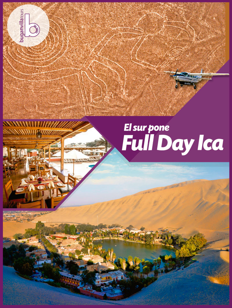 Full Day Ica desde Lima
