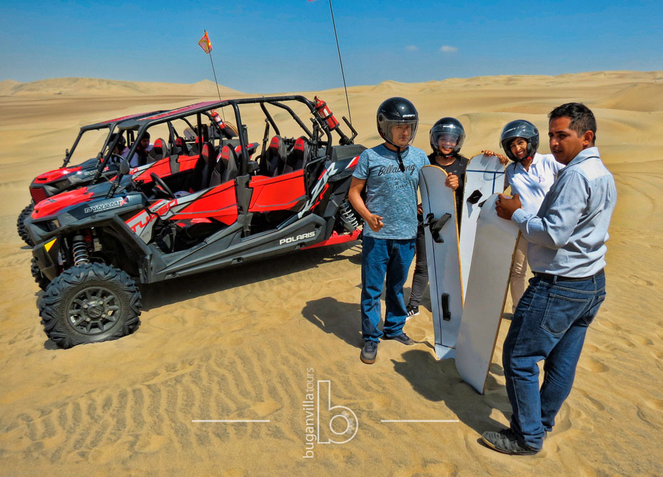 Polaris en Huacachina